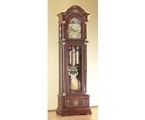 Hettich Uhren Exclusive Standuhr Nr.40 nußbaum lackiert mit Intarsien Einlegearbeiten im Schwarzwald hergestellt