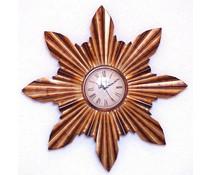 Hettich Uhren Wohn Design Uhr Sonne  Neu aus Schmiedeeisen mit Quarzwerk Aufwendig gearbeitete Wanduhr im klassichen Stil mit Quarzwerk Größe : 60 cm Nr.HTO2219