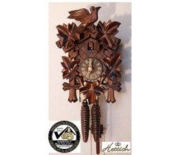 Hettich Uhren Sehr schöne handgefertigte Kuckucksuhr 23 cm hoch