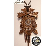 Hettich Uhren Kuckucksuhr 25cm mit 1 Tag mechanischem Rechenschlagwerk