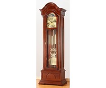 Hettich Uhren Exclusive Grandfather Clock No.35-50 painted with walnut made in the Black Forest