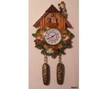 Hettich Uhren Cuckoo Clock with genuine quartz movement with magnetic