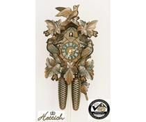 Hettich Uhren Orginal Schwarzwälder Kuckucksuhr mit 8 Tage Rechenschlagwerk 35cm hoch - Copy