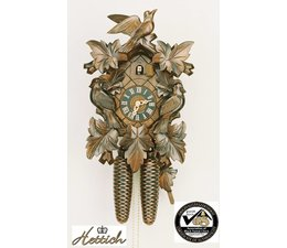 Hettich Uhren Prachtige handgemaakte koekoeksklok 35cm hoog met hangefertigte carving - Copy