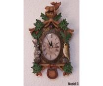 Hettich Uhren Kuckucksuhr mit echtem Quarzwerk mit Modell No.3 - Copy - Copy