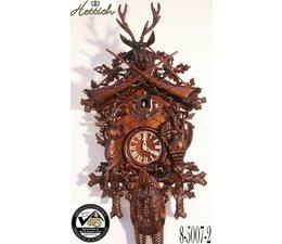 Hettich Uhren Originele Zwarte Woud koekoeksklok handgemaakte 95cm hoog met hangefertigter Hunting motief carving - Copy - Copy