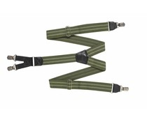 HENDRIK Hosenträger HENDRIK grün mit 2 hellgrünen Streifen