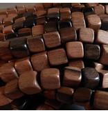 Kamagong Holz Würfel 10 mm
