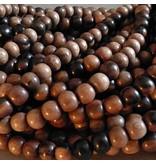 Kamagong Holz Perle 10 mm
