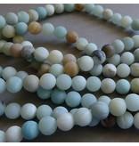 Amazonit Perle 8,5 mm - matt