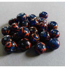 Lampwork Perlen 14 mm - 1 VE