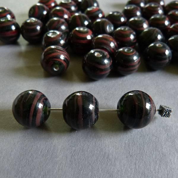 Lampwork Perlen 14 mm - 1 VE