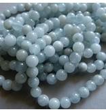 Aquamarin Perle 6,3 mm