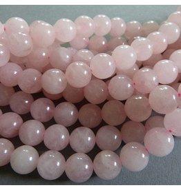 Rosenquarz Perle 6,3 mm