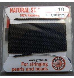 Griffin GmbH Perlseide 0,90  schwarz