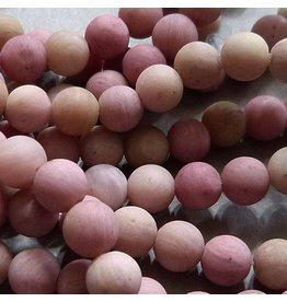 Rhodochrosit Perle 6,3 mm - matt