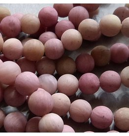 Rhodochrosit Perle 6,5 mm - matt