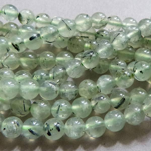 Prehnit Perle 6 mm