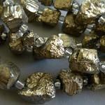 Pyrit Perlen