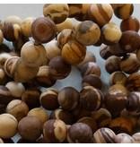 Zebra Jaspis Perle 8,6 mm - matt