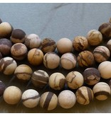 Zebra Jaspis Perle 6,4 mm - matt