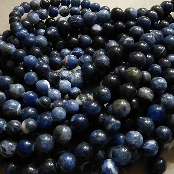 Sodalith Perle 8,6 mm