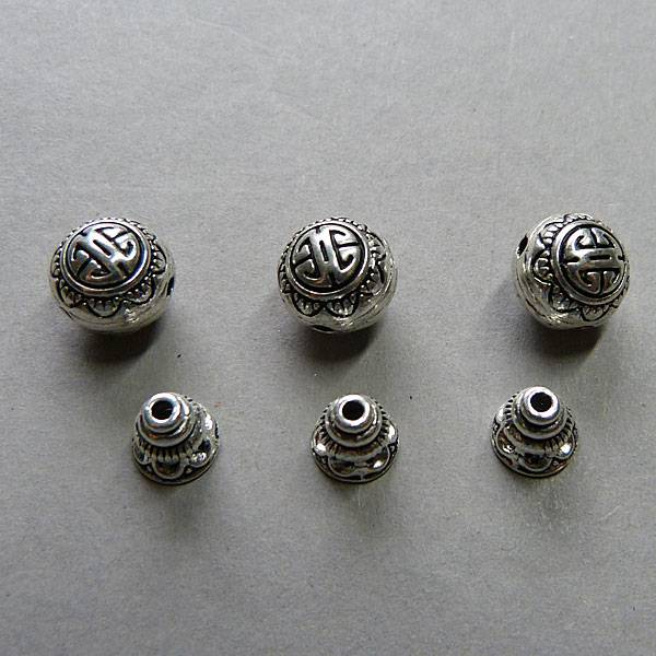 Guru Perle / 3 Loch Perle - 10 mm