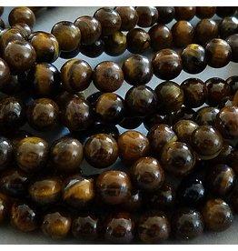 Tigerauge Perle 10,5 mm