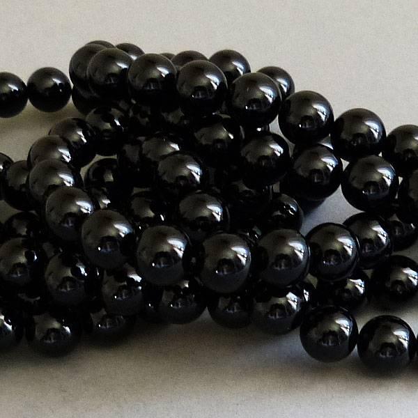 Onyx / Achat Perle 12 mm