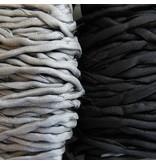 Habotai Seidenbänder Habotai Seidenband schwarz - 3 mm - 1,10 Meter