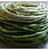 Habotai Seidenbänder Habotai Seidenband olive - 3 mm - 1,10 Meter