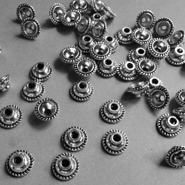 Perlen Kappe - 10 mm