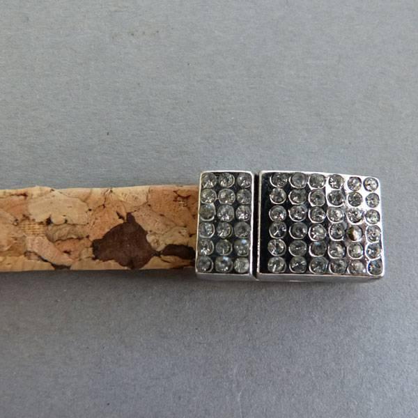 Korkband natur, flach - 10 mm