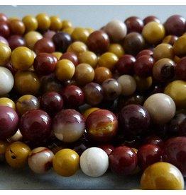 Jaspis Mookait Perle 8 mm