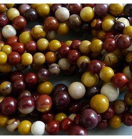Jaspis Mookait Perle 6 mm
