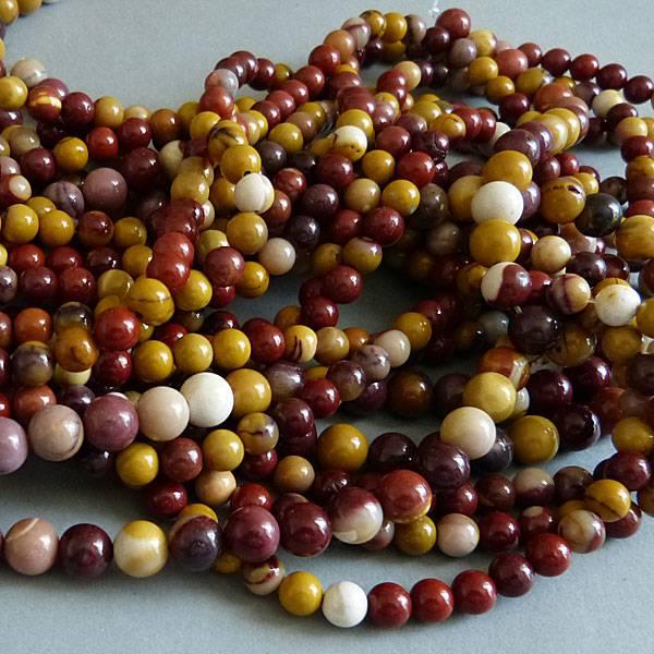 Mookait Perle 6 mm