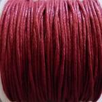 Baumwollbänder gewachst - 1 mm Stärke
