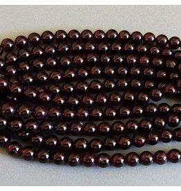 Granat Perle 6 mm