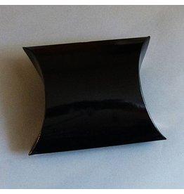 Schmuck Karton schwarz 12 cm