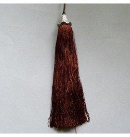 Quaste - braun - 15 cm