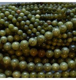 Jade Perle 8,5 mm - chinesische Jade
