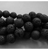 Lava Perlen Strang 18,6 mm