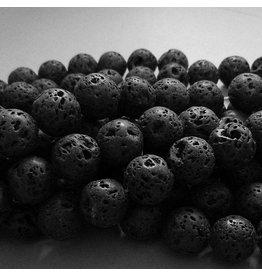 Lava Perlen Strang 14 mm