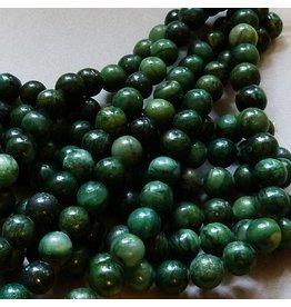 Jade Perle 6,5 mm - afrikanische Jade