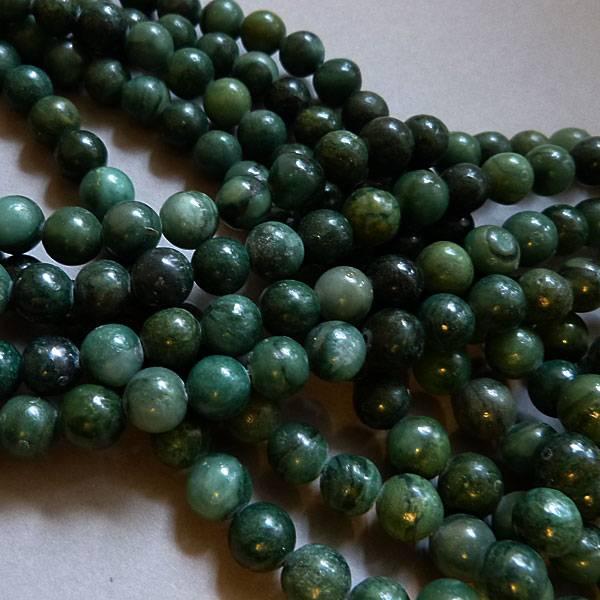 Jade Perle 8 mm - afrikanische Jade