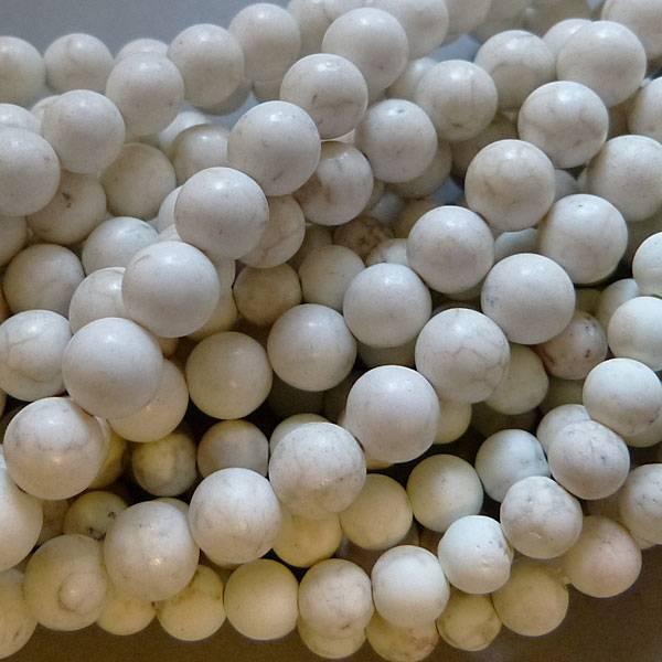 Howlith Perle 8,3 mm - matt