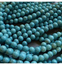 Howlith Perle 6,5 mm - türkis