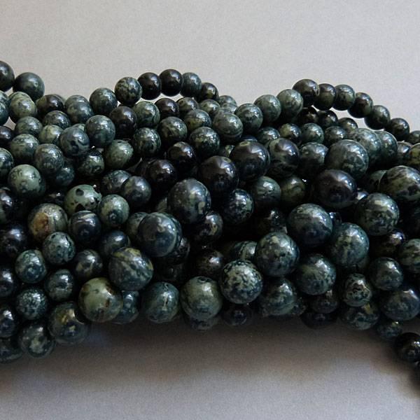 Rhyolith - Regenwald Jaspis 8 mm