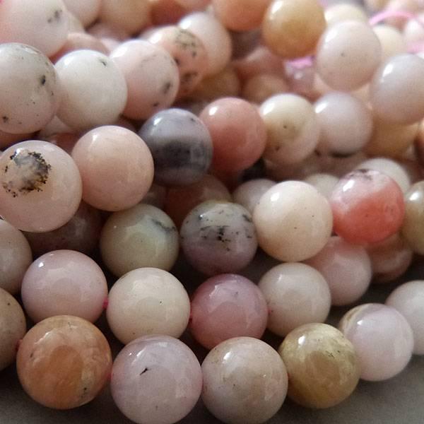 Rosa Opal Perle 10,3 mm