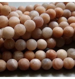 Sonnenstein Perle 6,3 mm - matt